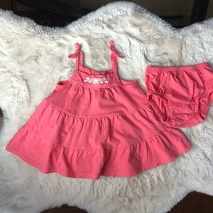 Gap Baby Girl Dress with Diaper Cover